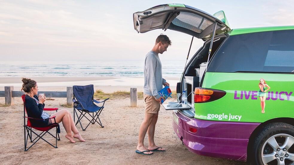 Akce letenky + karavany Austrálie