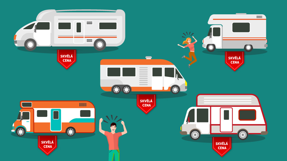 pronájem karavanů v Austrálii