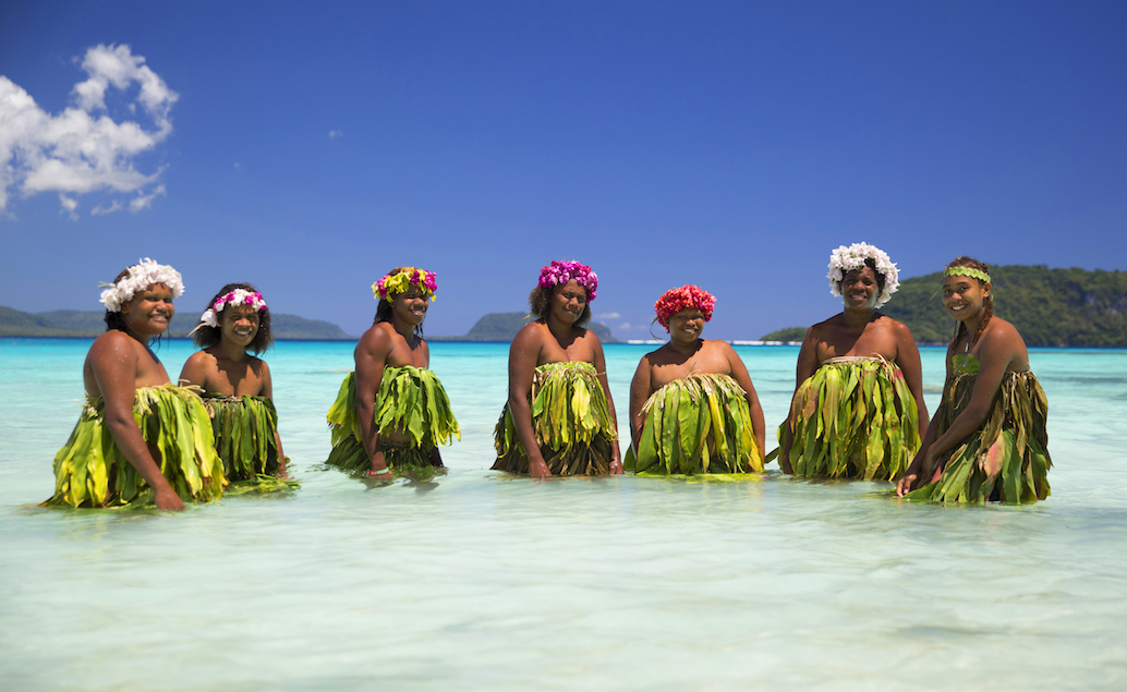 Exotický ráj na Vanuatu a sopka Tanna
