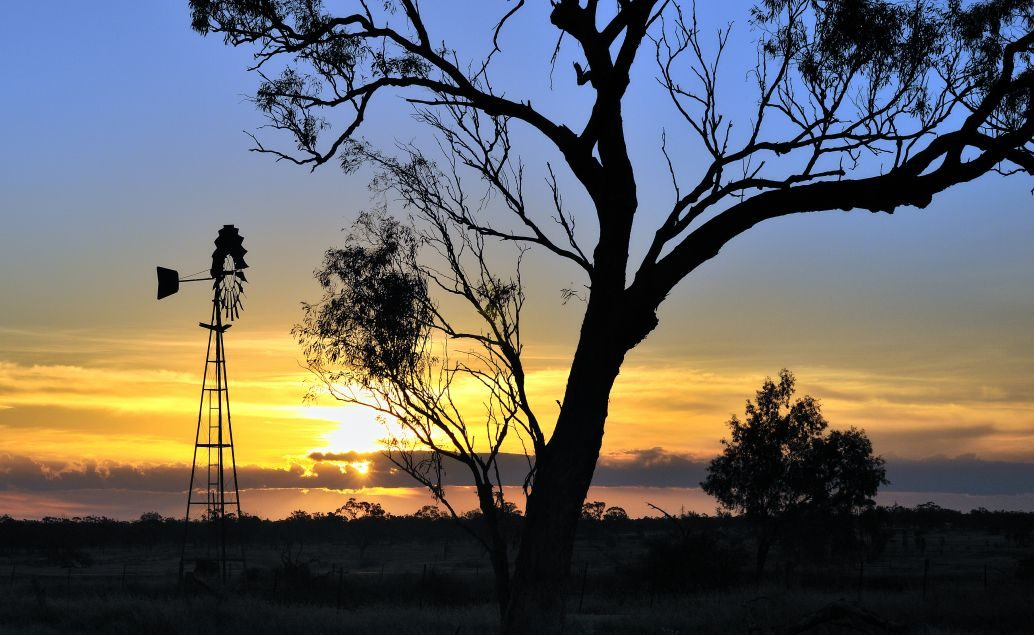 Rudý střed Austrálie
