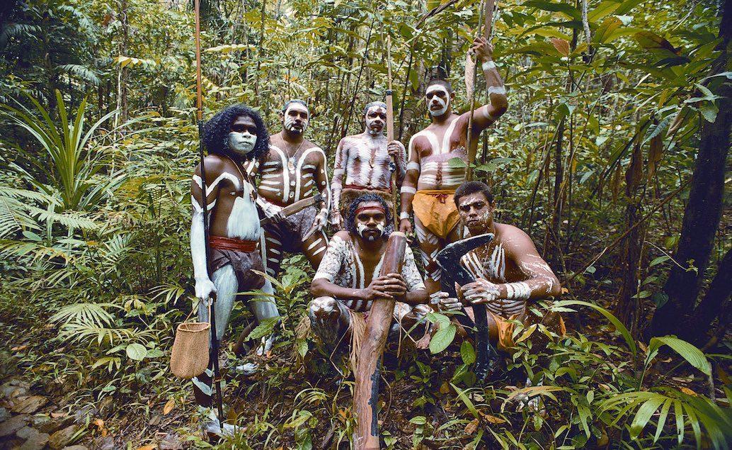 To Nej z Austrálie a Nového Zélandu, aborigines