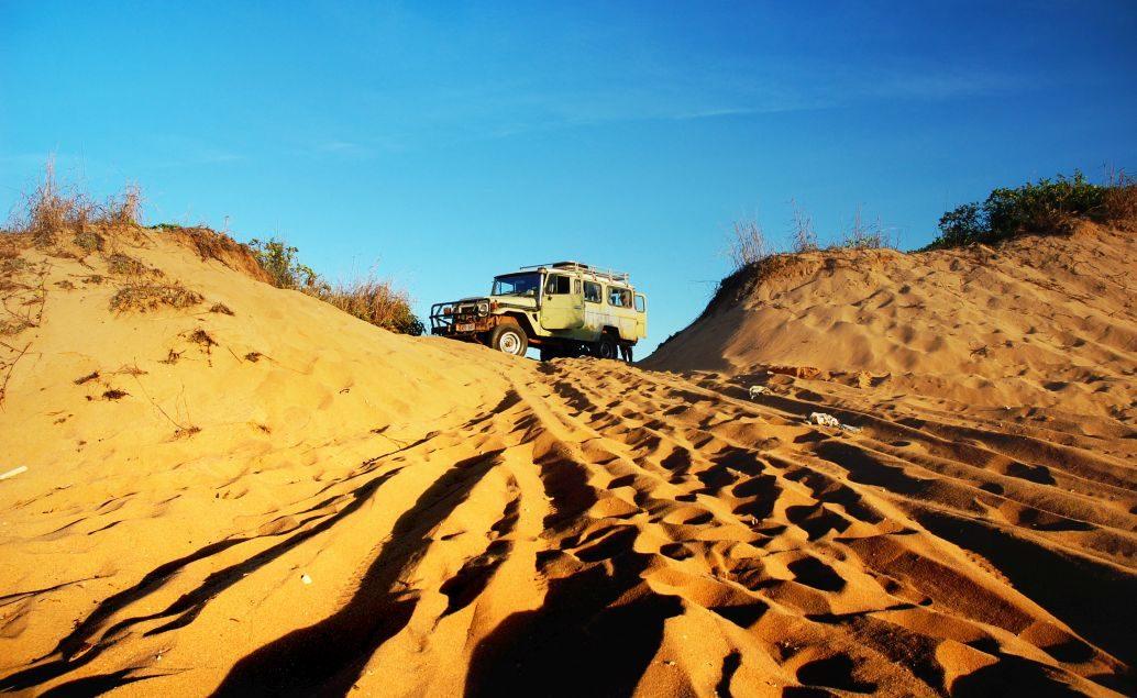 Zájezd Písečné Safari na ostrově Fraser