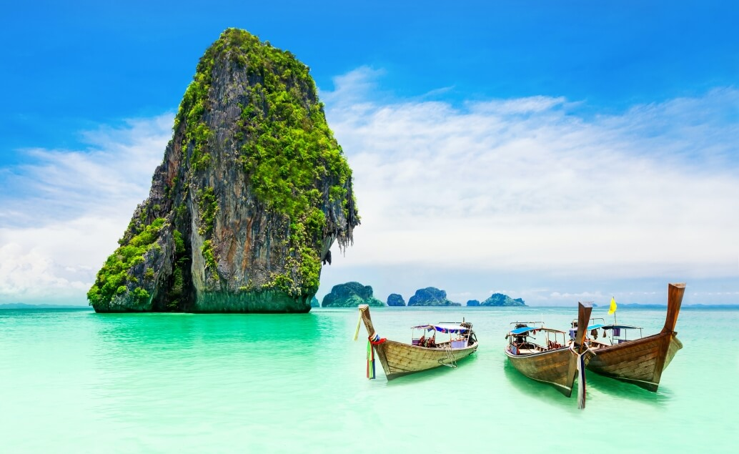 Kombinace Austrálie a Thajsko - Krabi