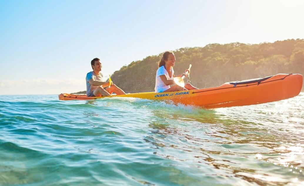 Zájezd Pláže Austrálie kajak