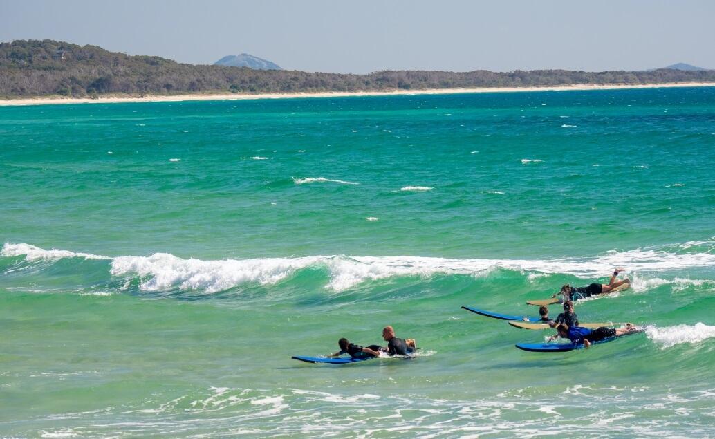 Zájezd Pláže Austrálie surfování