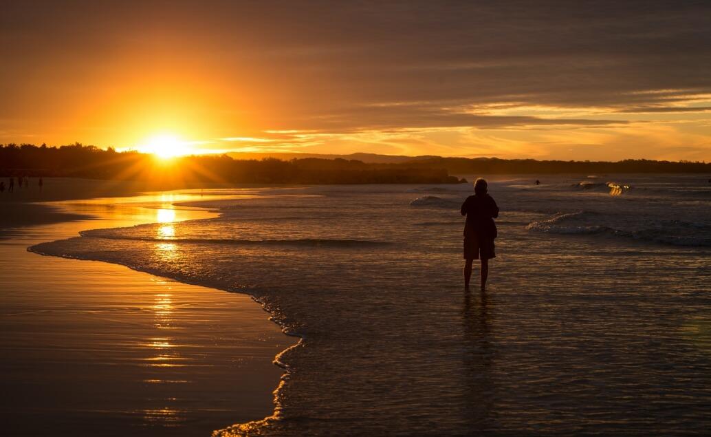 Zájezd Pláže Austrálie západ slunce