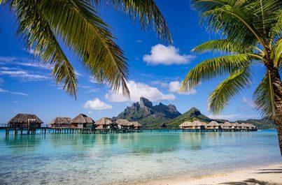 Ráj na zemi - ostrov Bora Bora
